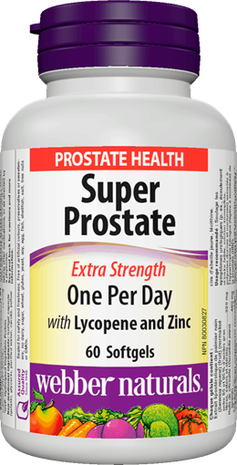 Picture of Webber Naturals Super Prostate Extra Strength, 60 Capsules