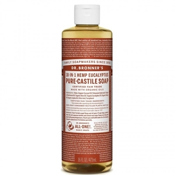 Picture of  Pure-Castile Liquid Soap, Eucalyptus 473ml