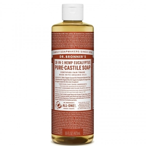 Picture of Dr. Bronner Pure-Castile Liquid Soap, Eucalyptus 473ml