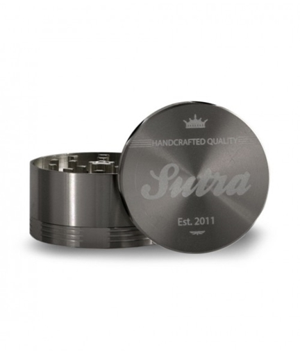 Picture of Sutra Sutra Aluminum 4 Piece 50mm Grinder, Titanium