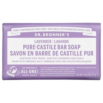 Picture of Dr. Bronner Bar Soap, Lavender 140g