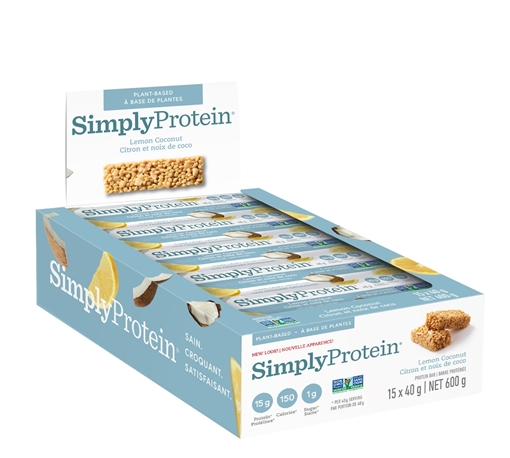 Picture of Simply Protein Protein Bar, Lemon Coconut 15x40g