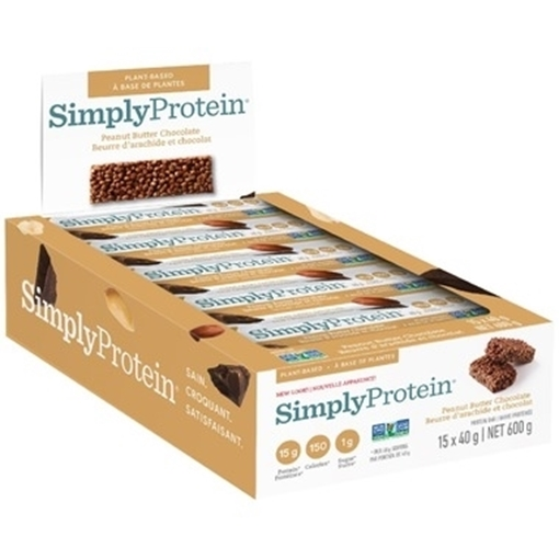 Picture of Simply Protein Protein Bar, Peanut Butter Chocolate 15x40g