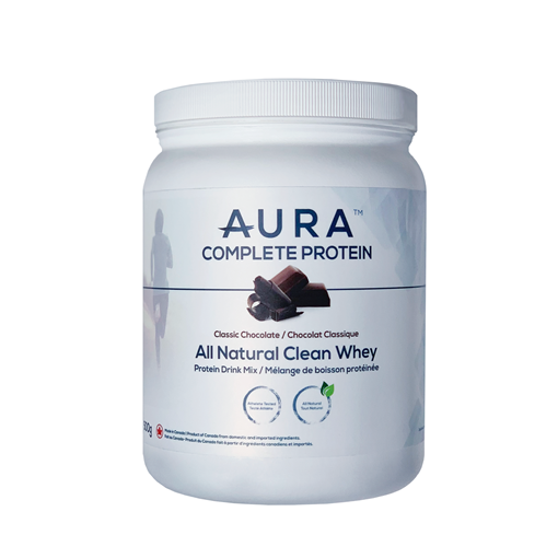 Picture of Aura Complete Protein All Natural Clean Whey Chocolate, 500g
