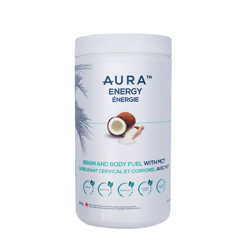 Picture of Aura Energy Brain And Body Fuel With MCT Unflavoured, 300g