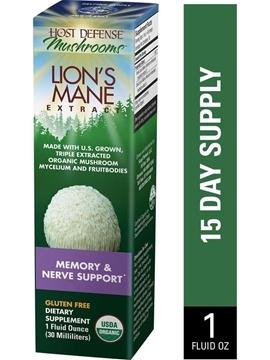 Picture of  Lions Mane (Hericium Erinaceus) Extract, 2 fl. oz