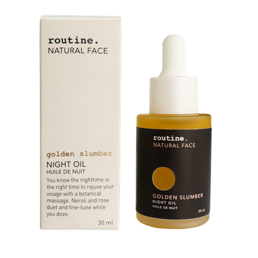 Picture of Routine Golden Slumber Night Oil, 30 ml
