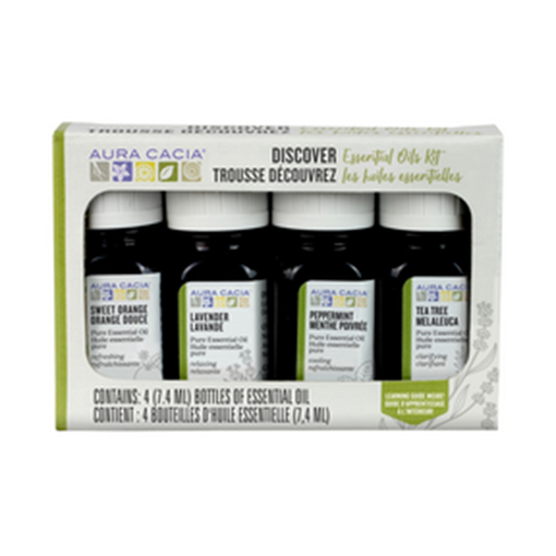 Picture of Aura Cacia Discover Essential Oils Kit
