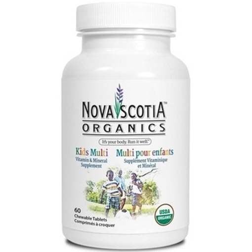 Picture of Nova Scotia Organics Kids Multivitamins,120 Chewable Tablets