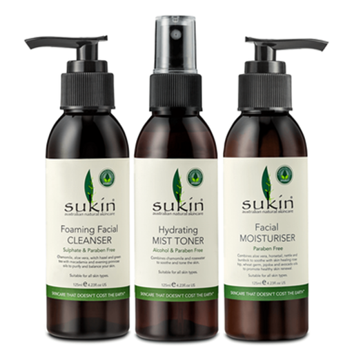 Picture of Sukin 3 Step Facial  Gift Set (3 Pack)