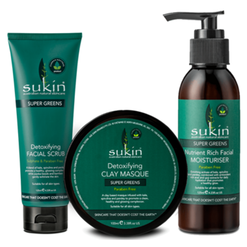 Picture of Sukin Super Greens Gift Set