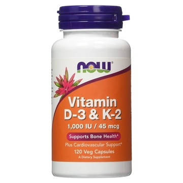 Picture of  Vitamin D-3 & K2, 120 caps