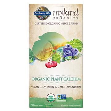 Picture of  mykind Organics Organic Plant Calcium, 90 tabs