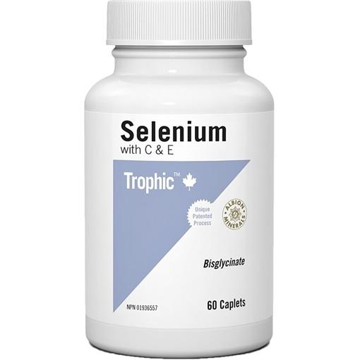 Picture of Trophic Selenium with C&E, 60 Capsules