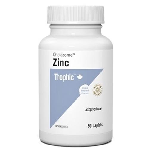 Picture of Trophic Zinc Chelazome, 60 caps