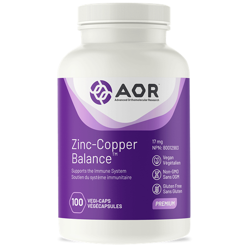 Picture of AOR Zinc-Copper Balance, 100 caps