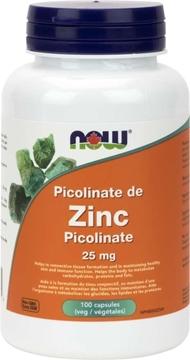 Picture of  Zinc Picolinate 25mg, 100vcap