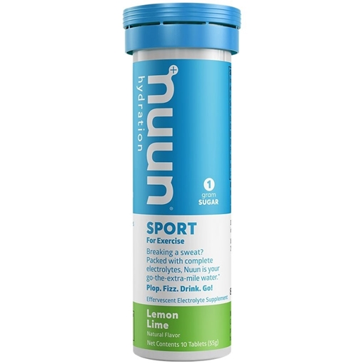 Picture of Nuun & Company, Inc Sport -  Lemon Lime, 8 x 10 Tablets