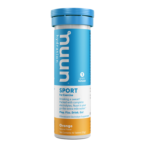 Picture of Nuun & Company, Inc Sport - Orange, 8 x 10 Tablets