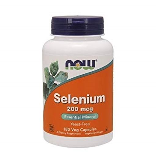 Picture of NOW Foods Selenium, 200mcg/90 caps