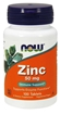 Picture of NOW Foods Zinc 50mg, 100 tabs