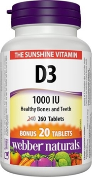 Picture of  Vitamin D3, 260 tabs