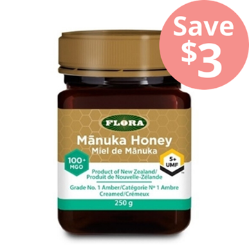 Picture of  Flora Manuka Honey MGO 100 UMF 5, 250g