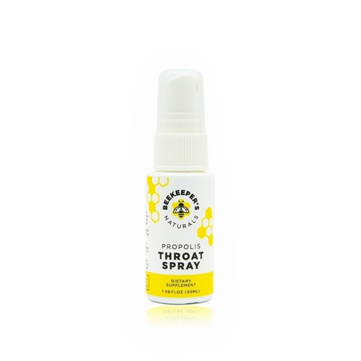 Picture of Beekeeper's Naturals Inc. Propolis Throat Spray 30ml