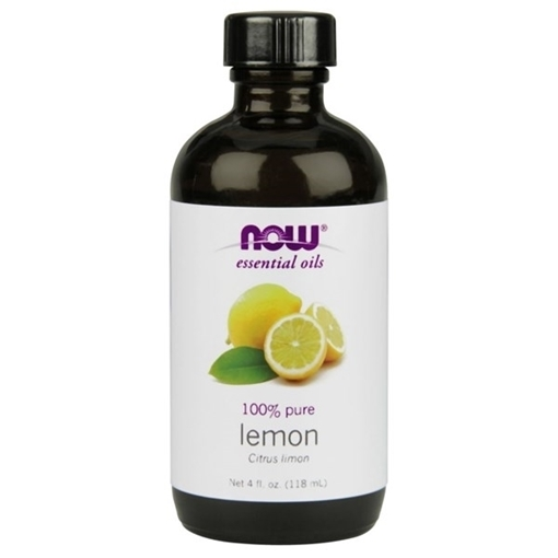 Picture of NOW Foods Lemon Oil, 118mL