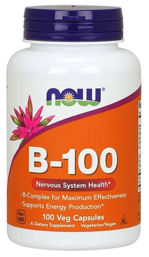 Picture of NOW Foods B-100 Complex, 100 caps