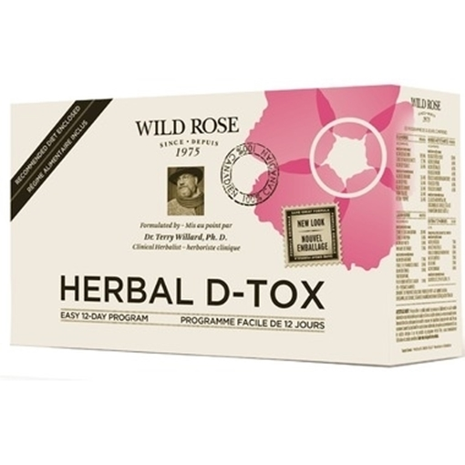 Picture of Wild Rose Herbal D-Tox Kit