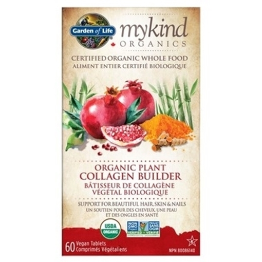 Picture of Garden of Life Plant Collagen Builder, 60 tabs