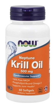 Picture of  Neptune Krill Oil, 500mg/60 softgels
