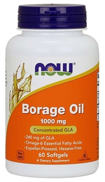 Picture of  Borage Oil, 1000mg/120 softgels