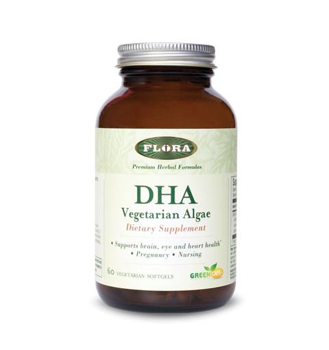 Picture of Flora DHA Vegetarian Algae, 60 caps