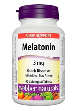 Picture of  Melatonin, 3mg/90 tabs
