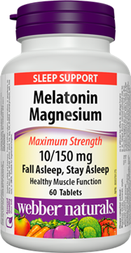 Picture of  Melatonin Magnesium, 10-150mg/60 tabs