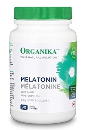 Picture of Organika Melatonin, 90 tabs