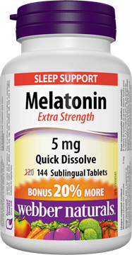 Picture of  Melatonin Extra Strength, 5 mg/144 tabs