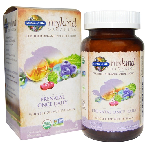 Picture of Garden of Life Prenatal Once Daily Multi, 30 tabs
