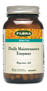 Picture of  Flora Daily Maintenance Enzymes, 60 caps