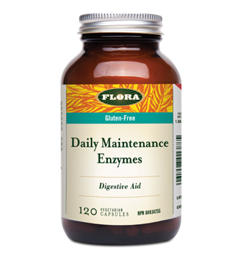 Picture of  Daily Maintenance Enzymes, 120 caps