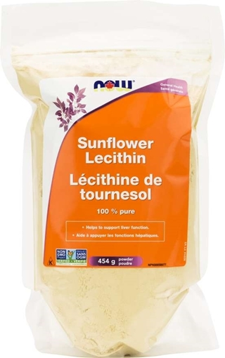Picture of NOW Foods Sunflower Lecithin Powder, 454g