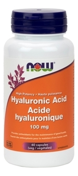 Picture of  Hyaluronic Acid, 100mg/60 Capsules