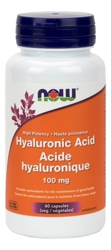 Picture of NOW Foods Hyaluronic Acid, 100mg/60 Capsules